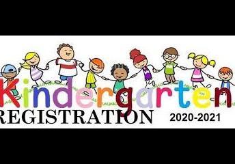 Kindergarten Registration for 2021-2022 begins on February 1st (on-line only/please call for online registration website information)