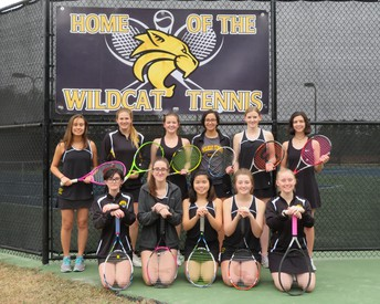 RHHS Girls Tennis Team
