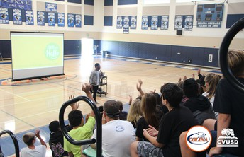 Start with Hello – New Assemblies Promote Inclusion & Kindness at CVUSD Schools