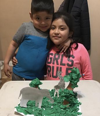 Daniela and Gabriel Pucci - Create a 3D Habitat
