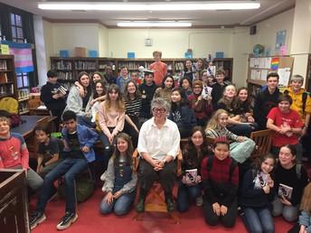 Lambda Literary author visit with Cris Beam & GLAM