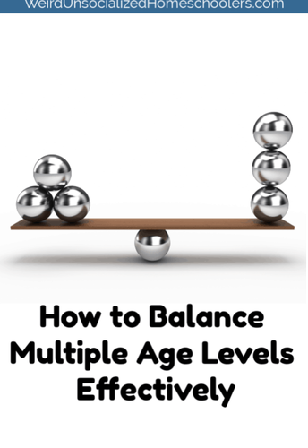 How to Balance Multiple Age Levels Effectively
