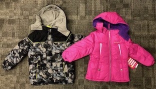 Free Winter Coats - Sizes 4-6X