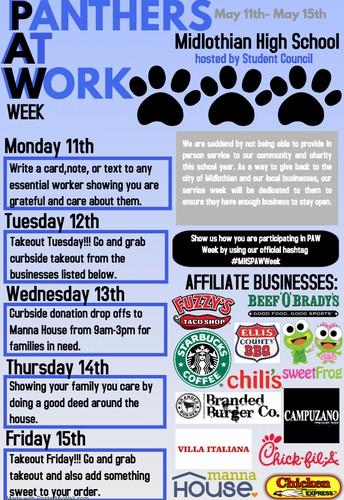 P.A.W. Week