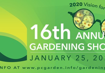 join pcc at Garden Show by Porter County Master Gardners