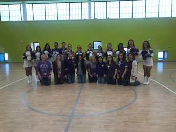 Our Tarleton Alumni with the Cheer and Dance Team!