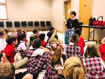 2nd Grade Retreat and First Reconciliation
