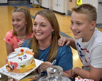 SKYWAY ELEMENTARY SCHOOL NURSE named the IDAHO NURSE OF THE YEAR