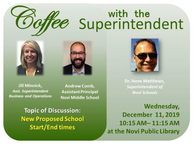 Coffee w/ the Supt. Flyer