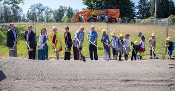 Mirror Lake Elementary School Groundbreaking