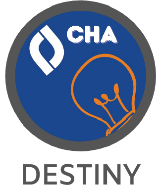 CHA Follett Destiny Discover logo image