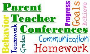 Parent Teacher Conferences Oct. 11 & 15
