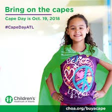 Cape Day Friday October 19, 2018 for $2.00 donation