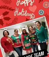 Happy Holidays From the 8th Grade Team