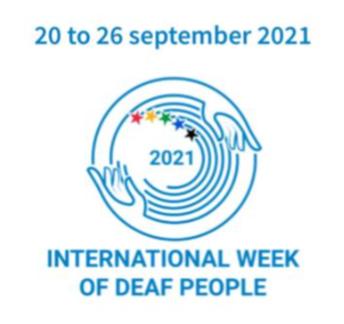 International Week of Deaf People