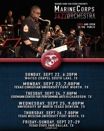 Marine Corps Jazz Orchestra FREE Concert
