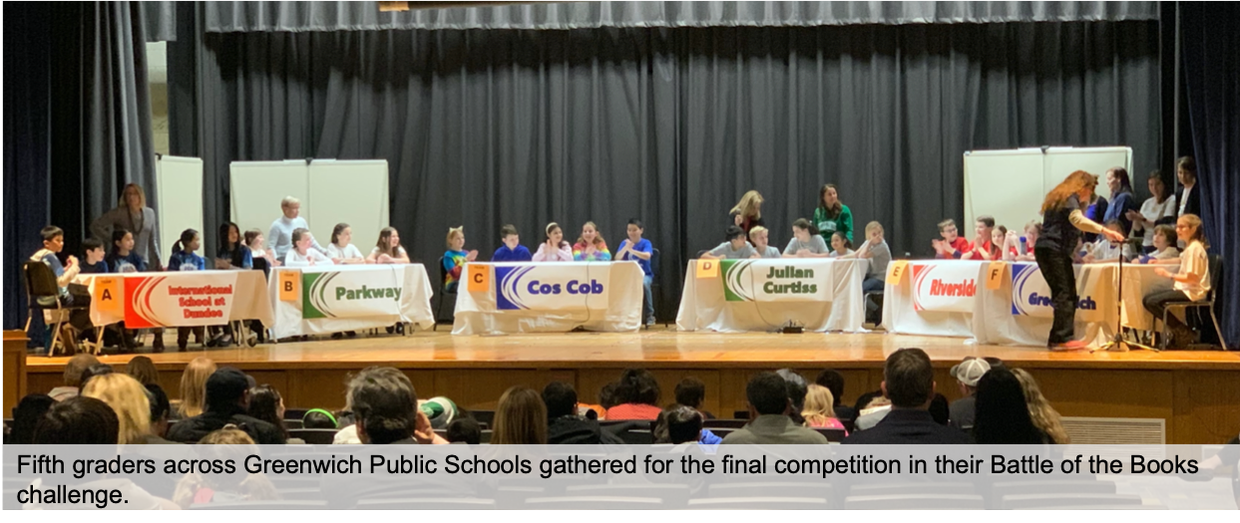Students across multiple elementary schools compete in the Battle of the Books Championships