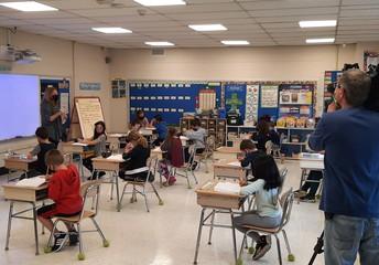 Visiting Mrs. Waddell's 2nd Grade