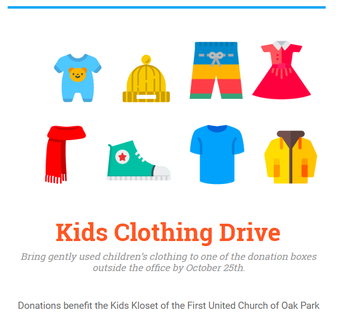 Kid's Clothing Drive