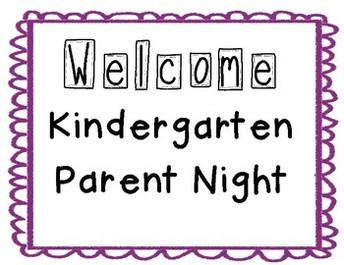 KDG Parent Night
