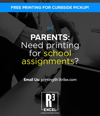 Free Printing for Curbside Pickup