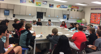 Socratic Seminar in 8th Grade