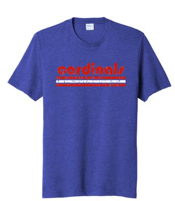 Spirit Wear: Blue School Shirt