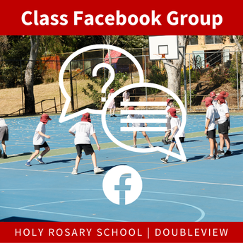 Join the class Facebook Group