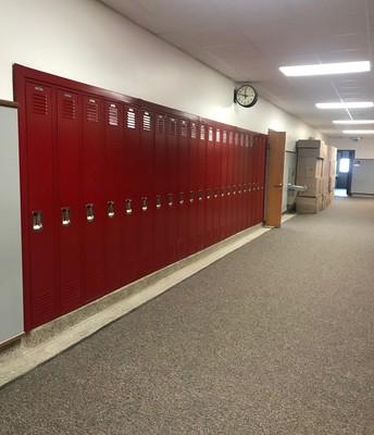 New Lockers!