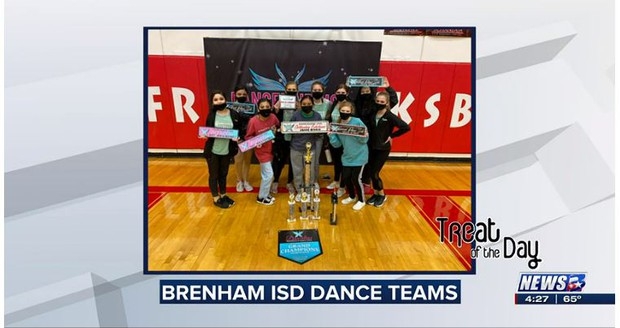 Treat of the Day: Brenham ISD dance teams