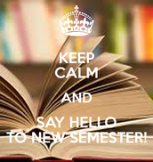 New Semester Starts Wednesday