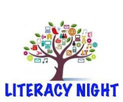 Family Literacy Night - Thursday, Nov. 8th