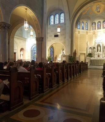 October Birthday Mass