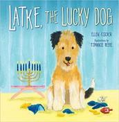 Latke, the Lucky Dog