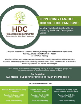 Free Family, Parent Support From HDC