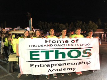 Ethos Emprendimiento Academia de Thousand Oaks Secundaria recibe todo el estado de Honor