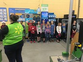 Singing at Wal-Mart