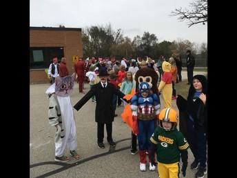 Halloween Parade Fun!