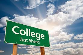 Where should I be in the college search process?