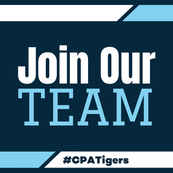 Join our team. #CPATigers
