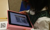 Sorting Numbers, Shapes and Letter-QR Code Game