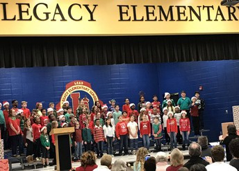 5th Graders Sing Their Way through December