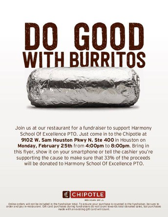 HSE Spirit Night at Chipotle