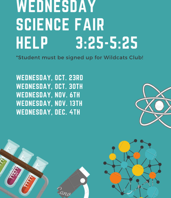 Science Fair Wednesday Help