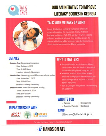 Talk With Me Baby (0-4yrs old) Parent Workshop