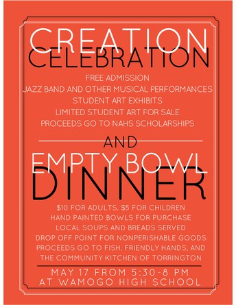 Creation Celebration and Empty Bowl Dinner