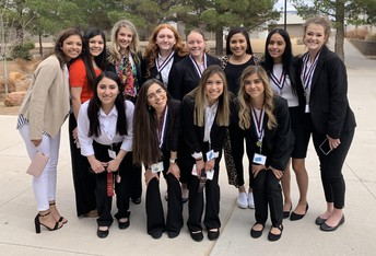 HOSA Competes at Spring Conference