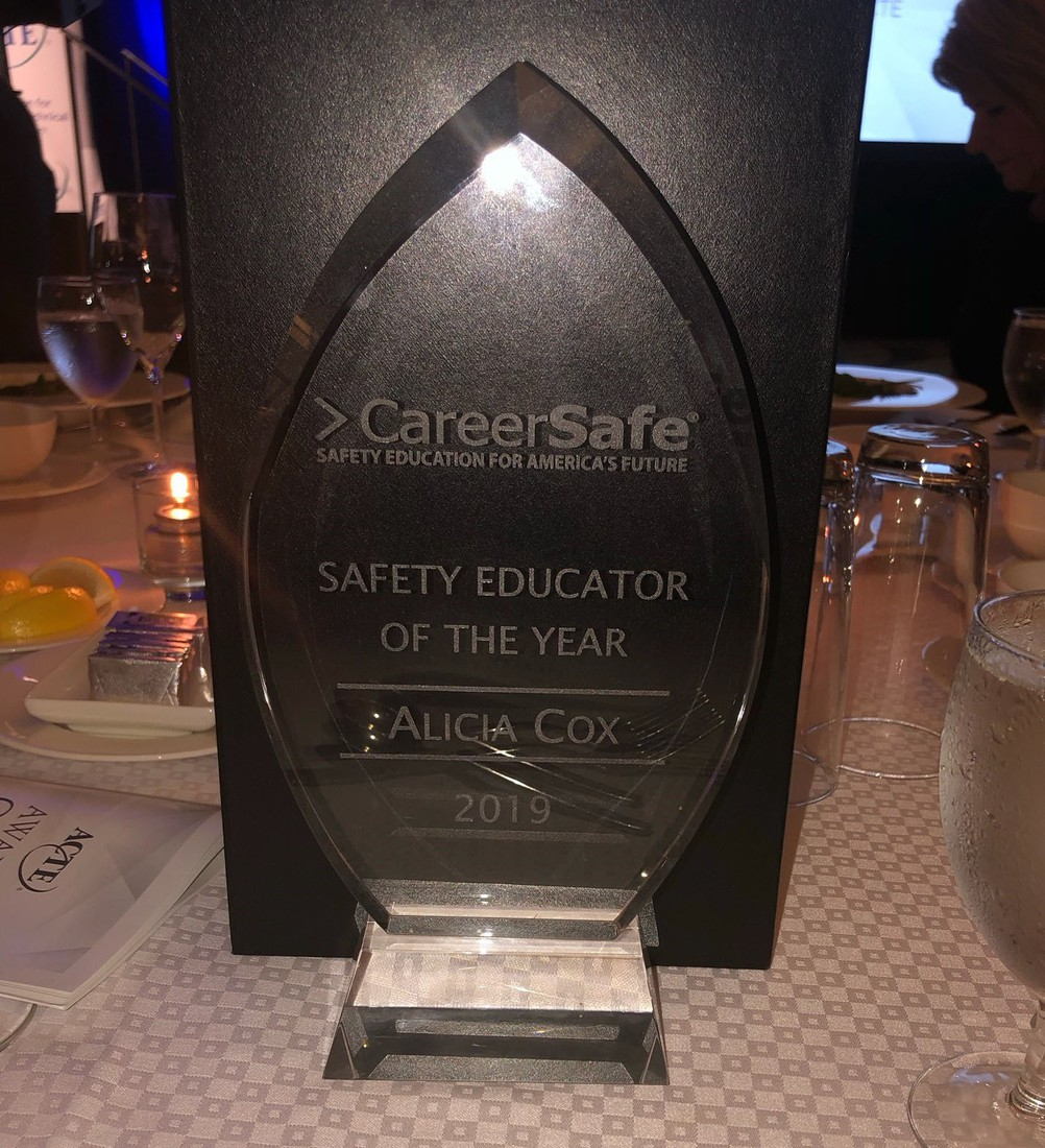 2019 CareerSafe Safety Educator of the Year Award