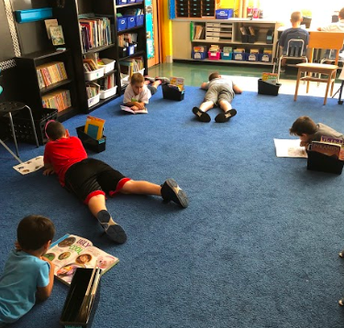 Building Read to Self Stamina!
