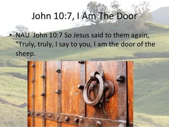 John 10:7